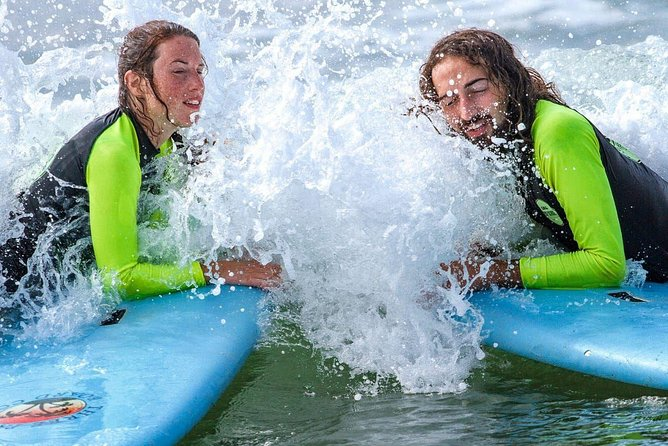 PRIVATE Surf lesson for Beginners Couple