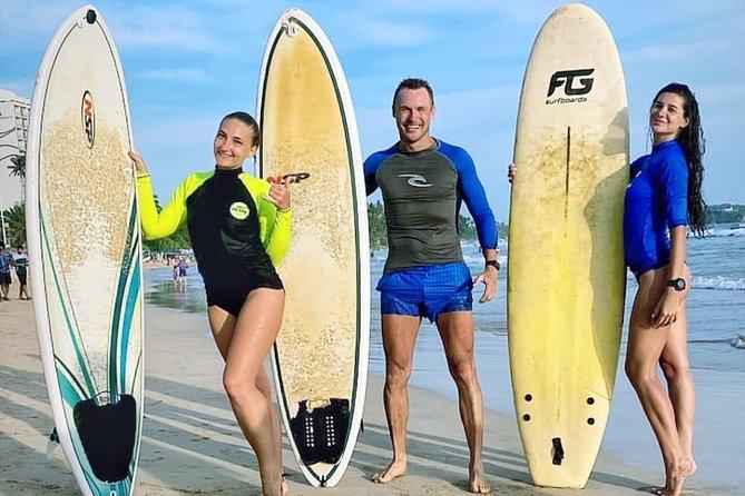 PRIVATE Surf Lesson for Intermediate