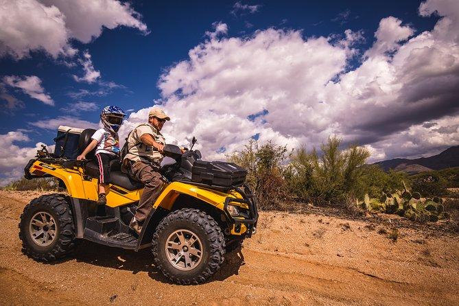 Sonoran Desert Guided Double ATV Adventure