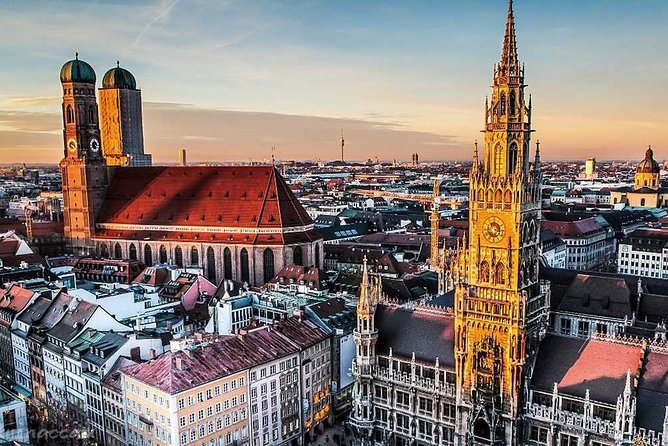 Extended walking tour of Munich