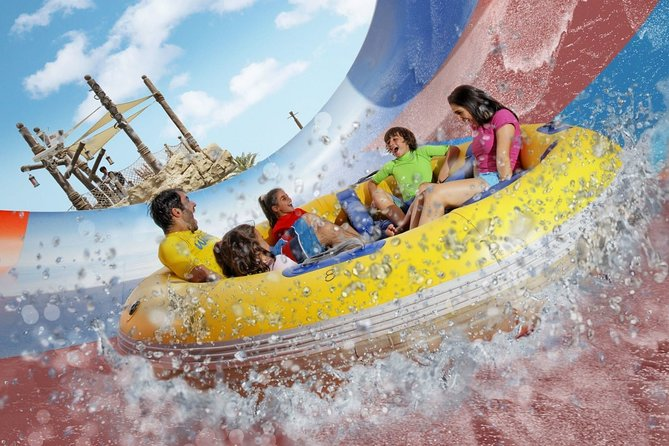Yas Waterworld Abu Dhabi Premium Pass Transfers from Dubai