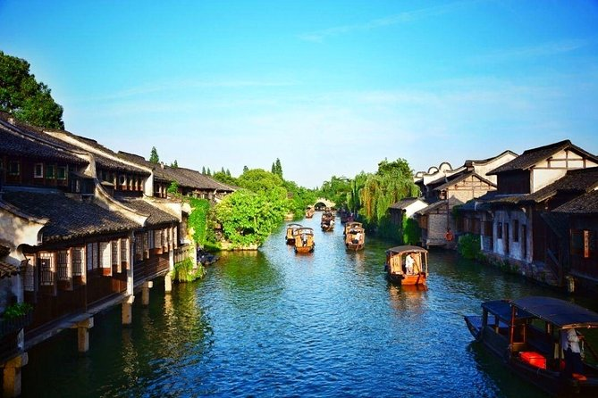 Wuxi Private Transfer to Hangzhou with Stop-Over at Wuzhen Water Town