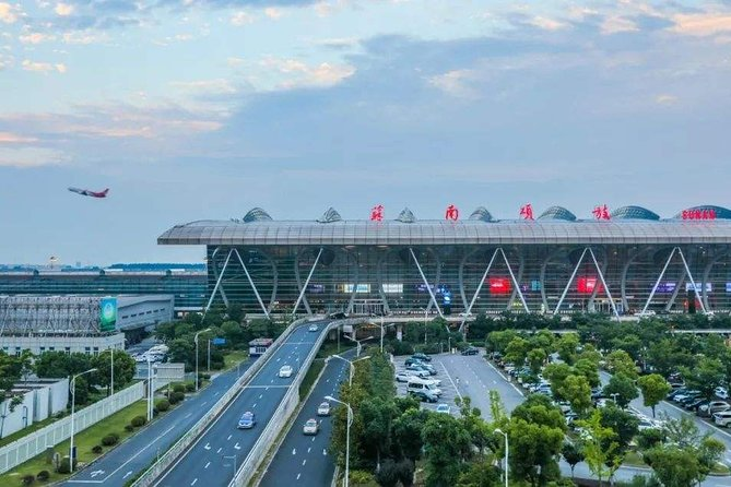 Sunan Shuofang International Airport Private Departure Transfer from Wuxi City