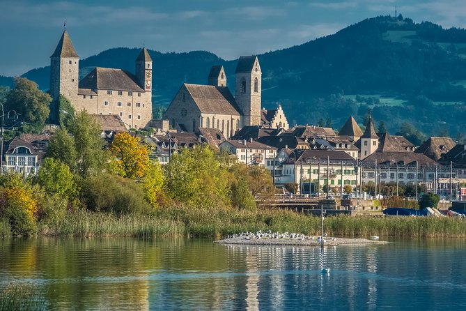 Zurich, Einsiedeln and Rapperswil by private vehicle and boat (Private Tour)!