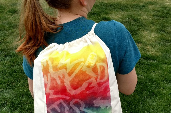 Sun-Dye Drawstring Backpack Art Kit