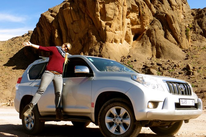 From Marrakech: 4 Days Private 4x4 Experience Erg Chigaga Dunes & Desert driving