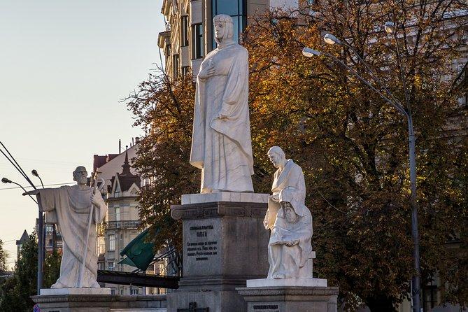 Tour Of Central Kiev With Natalia