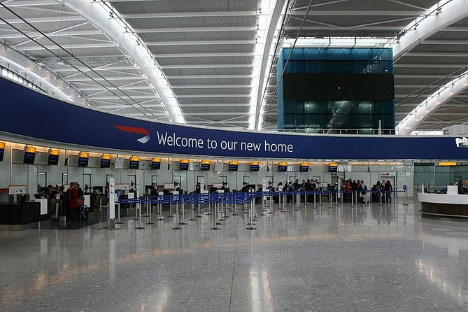 Heathrow Airport Private Transfers to/from London (Postcode W1 to W7)