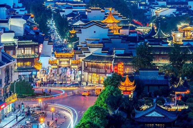 Nanjing Self-Guided Tour from Wuxi by Private Car with Drop-off Option