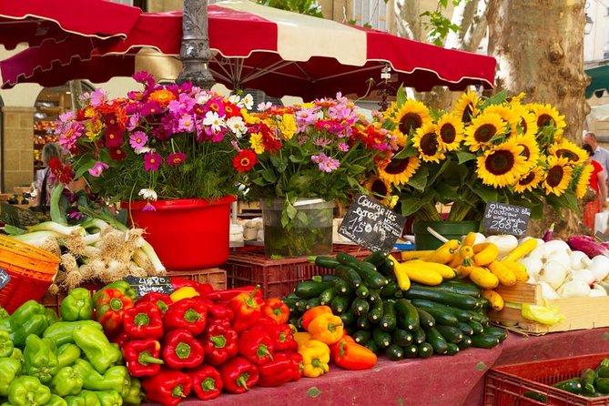 Food Tasting, Wine Tasting & Farmers Market in Aix en Provence