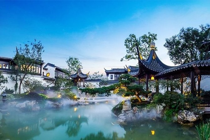 4-Hour Suzhou Private Tour: Humble Administrator's Garden,Tiger Hill and Canal