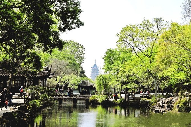Suzhou and Zhouzhuang Water Town Private Day Tour from Wuxi