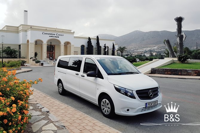 Transfers Services in Crete from/ to Airports - Ports