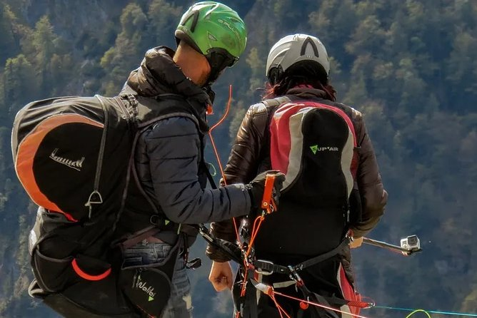 Paragliding in the heart of Shimla