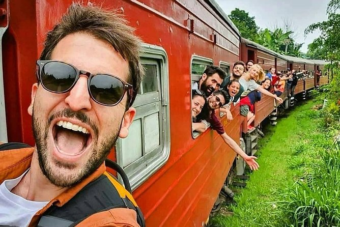 scenic train ride and gem tour with private car driver