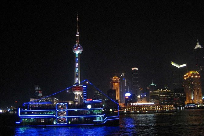 Private Tour: Huangpu River Cruise and Bund City Lights Evening Tour of Shanghai