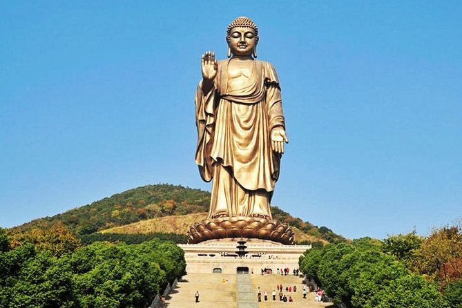 Wuxi Lingshan Buddhist Scenic Spot Self-Guided Tour with Private Transfer