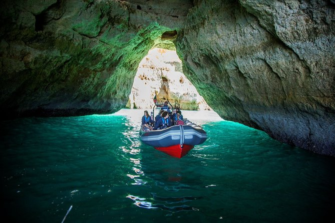 Dolphins and Caves Albufeira Marina (Private Tour, Covid 19 Clean and Safe)