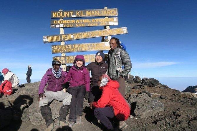 Climb Kilimanjaro 6 Days Machame Route