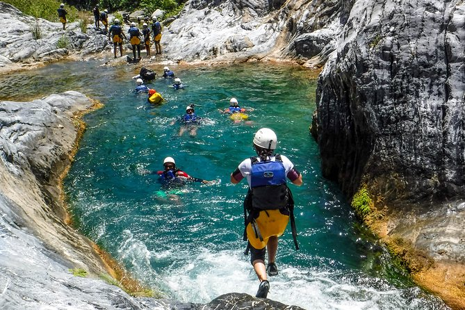 Extreme Canyoning in Matacanes from Monterrey