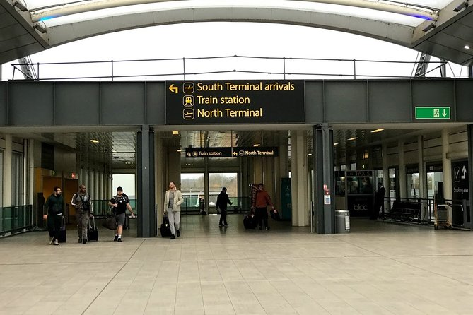 Gatwick Airport Private Transfers to/from London (Postcode WC1 to WC2)