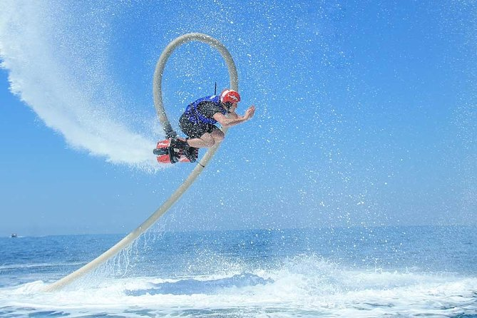 ENJOY the FLYBOARD Experience in Cancun. With Training, Equipment and Instructor