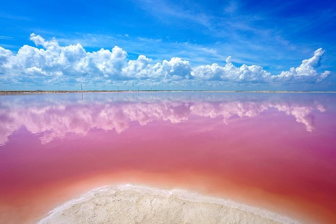Tour Ek Balam & Las Coloradas Natural Pink Lake