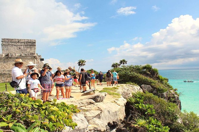 Amazing tour to Tulum, Coba, a real Mayan Cenote & Playa del Carmen from Cancun