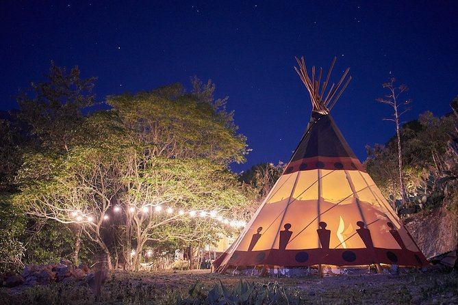 3-in-1 Discovery Combo Tour: Chipitin Waterfall, Campfire Night + Tipi Lodging