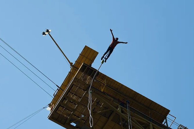 Bungee Jumping Giant Swing and Flying Fox Combo in Rishikesh