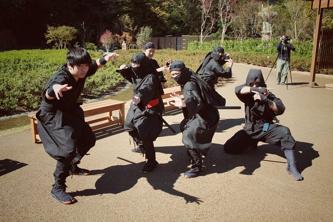 Full Day Bus Tour to Tokyo with Lake Kawaguchi & Ninja Experience from Takayama