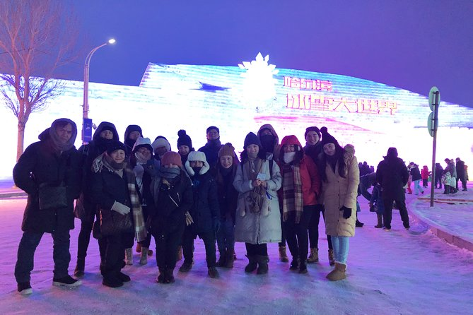 Group Tour to Harbin Ice and Snow World plus Sun Island Snow Sculpture Festival