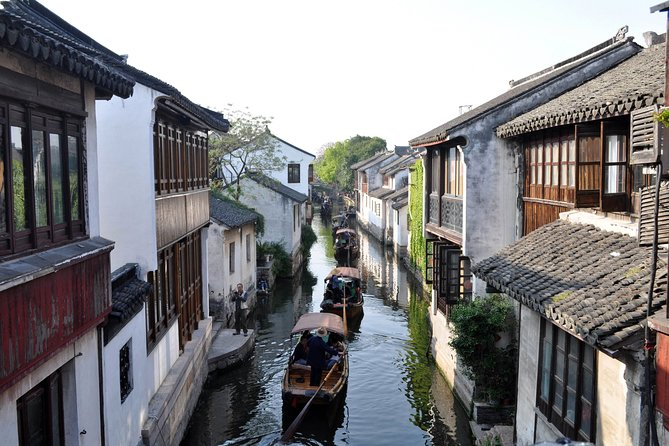 Private Tour: Suzhou and Zhouzhuang Water Village Day Trip from Shanghai