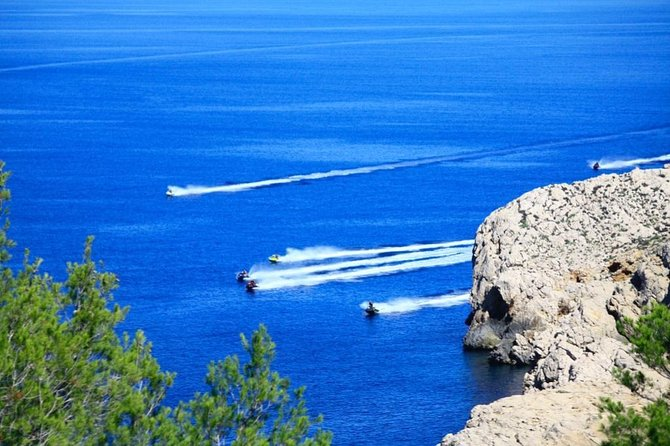 Jet ski from San Antonio (Ibiza) to Margaritas Islands