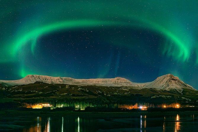 Secret Lagoon, Buffet Dinner, and Northern Lights Tour from Reykjavik