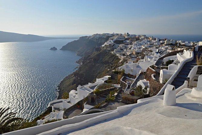 Experience Santorini's beauty from water on a caldera Cruise