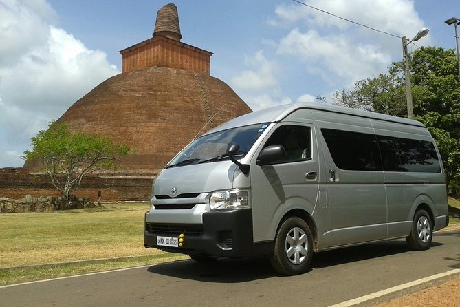 Van Transfer from Colombo to Trincomalee - pick-up & drop-off, one way