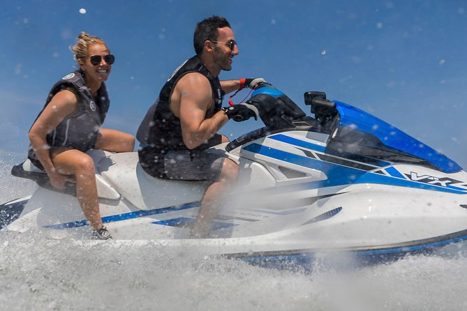 Jet ski excursion in Ibiza - From San Antonio to Conejera