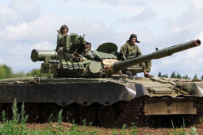 T-80 tank ride