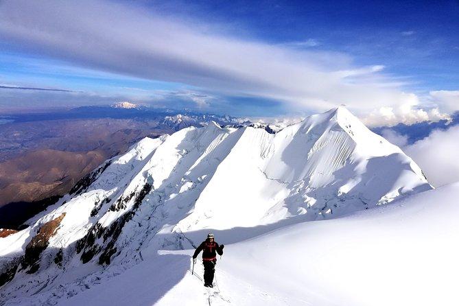 Illimani 6438m. 3 day Climb