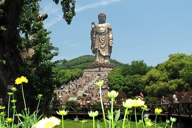 Private Half-Day Leisure Tour of Lingshan Buddhist Scenic Spot in Wuxi