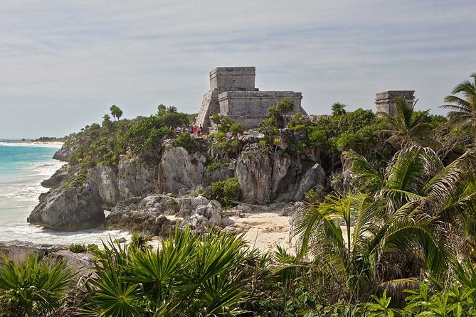 Day Trip: Tulum, Coba, Playa Del Carmen and Cenote Swim from Cancun First Class