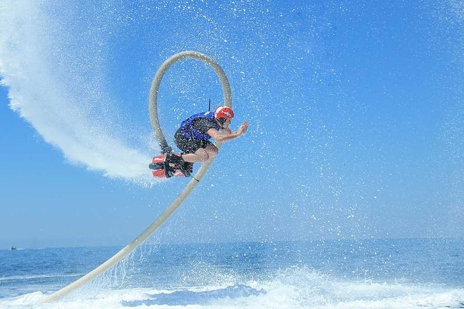 FEEL LIKE A SUPERHERO on the FLYBOARD. Includes Training, Equipment, Instructor.