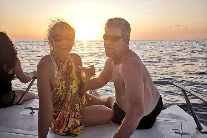 Sunset Getaway Boat