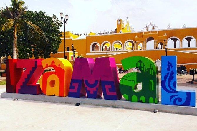 From Merida: Isamal & Valladolid + Cenote + Pyramid