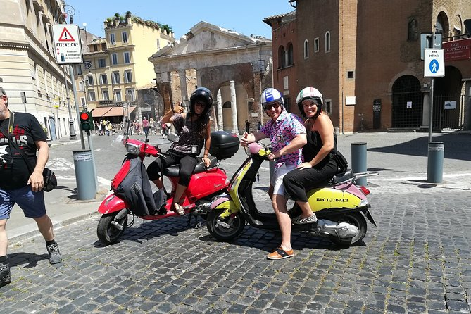 Vespa Rome Semi Private Tour