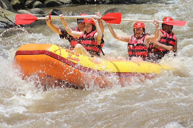 Bali Fullday Adventure of Telaga Waja River Rafting Combine Ubud Tour