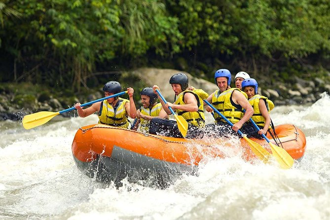 Bali Fullday Adventure of Telaga Waja River Rafting Combine Ubud Tour