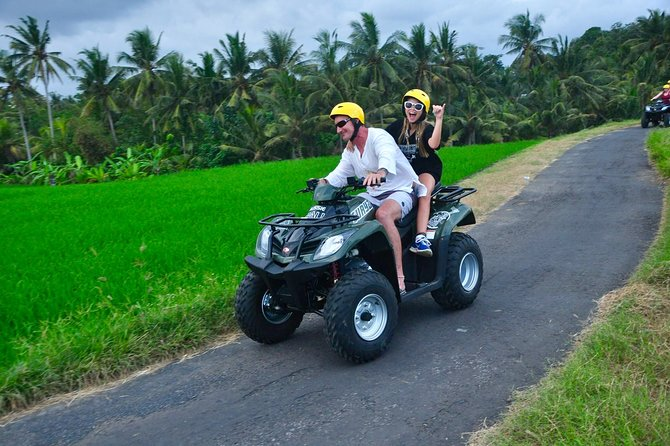Bali ATV Ride for 2 Hours with Pick Up Service and Buffet Lunch