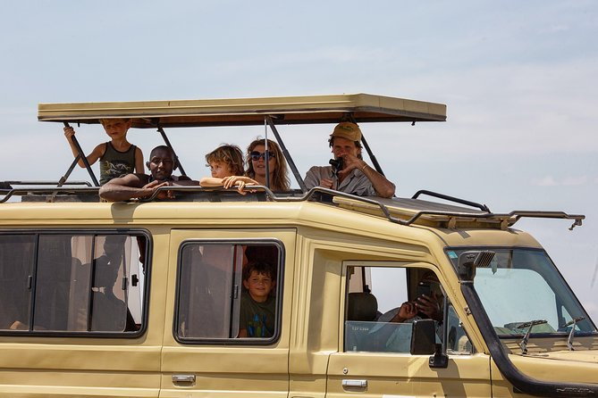 5 Days-Lodge Safari Package